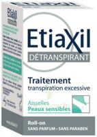 Etiaxil Aisselles Détranspirant Peau Sensibles Roll-on/15ml à LYON