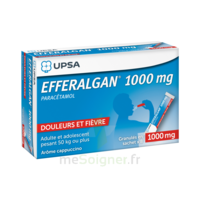 Efferalgan 1g Cappuccino Granules 8 Sachets à LYON