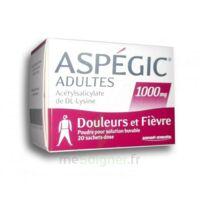 Aspegic Adultes 1000 Mg, Poudre Pour Solution Buvable En Sachet-dose 20 à LYON