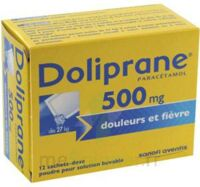 Doliprane 500 Mg Poudre Pour Solution Buvable En Sachet-dose B/12 à LYON