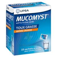 Mucomyst 200 Mg Poudre Pour Solution Buvable En Sachet B/18 à LYON