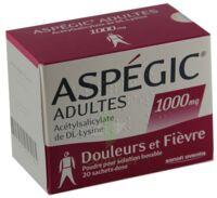 Aspegic Adultes 1000 Mg, Poudre Pour Solution Buvable En Sachet-dose 15 à LYON