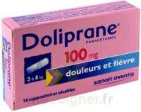 Doliprane 100 Mg Suppositoires Sécables 2plq/5 (10) à LYON