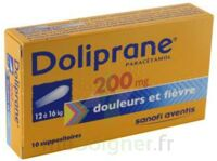 Doliprane 200 Mg Suppositoires 2plq/5 (10) à LYON