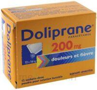 Doliprane 200 Mg Poudre Pour Solution Buvable En Sachet-dose B/12 à LYON