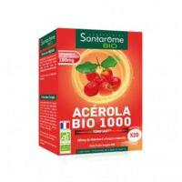 Santarome Bio Acérola 1000 Comprimés à Croquer 2t/10 à LYON