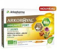 Acheter Arkoroyal Immunité Fort Solution buvable 20 Ampoules/10ml à LYON