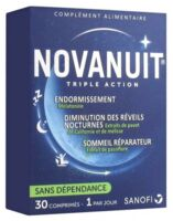 Novanuit Triple Action Comprimés B/30 à LYON