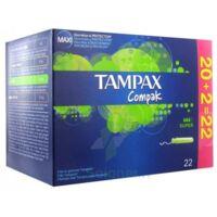 Tampax Compak, Super, Bt 22 à LYON