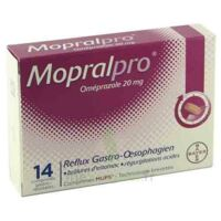 Mopralpro 20 Mg Cpr Gastro-rés Film/14 à LYON