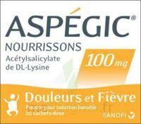 Aspegic Nourrissons 100 Mg, Poudre Pour Solution Buvable En Sachet-dose à LYON
