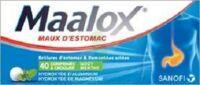 Maalox Hydroxyde D'aluminium/hydroxyde De Magnesium 400 Mg/400 Mg Cpr à Croquer Maux D'estomac Plq/40 à LYON
