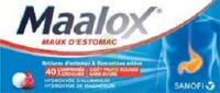 Maalox Maux D'estomac Hydroxyde D'aluminium/hydroxyde De Magnesium 400 Mg/400 Mg Sans Sucre Fruits Rouges, Comprimé à Croquer édulcoré à La Saccharine Sodique, Au Sorbitol Et Au Maltitol à LYON