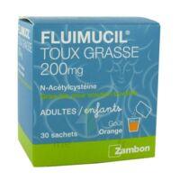 Fluimucil Expectorant Acetylcysteine 200 Mg Sans Sucre, Granulés Pour Solution Buvable En Sachet édulcorés à L'aspartam Et Au Sorbitol à LYON