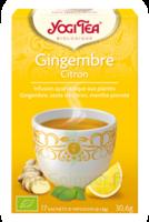 Yogi Tea Gingembre Citron à LYON