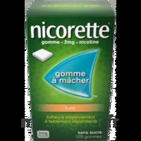 Nicorette 2 Mg Gomme à Mâcher Médicamenteuse Sans Sucre Fruits Plq/30 à LYON