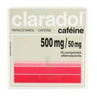 Claradol Cafeine 500 Mg/50 Mg, Comprimé Effervescent à LYON
