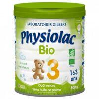Physiolac Lait Bio 3eme Age 900g à LYON
