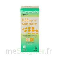Oxomemazine Arrow 0,33 Mg/ml Sans Sucre, Solution Buvable édulcorée à L'acésulfame Potassique à LYON