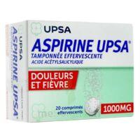 Aspirine Upsa Tamponnee Effervescente 1000 Mg, Comprimé Effervescent à LYON