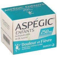 Aspegic Enfants 250, Poudre Pour Solution Buvable En Sachet-dose à LYON