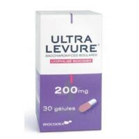 Ultra-levure 200 Mg Gélules Fl/30 à LYON