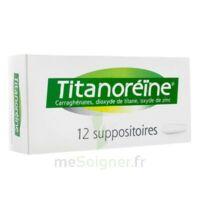 Titanoreine Suppositoires B/12 à LYON