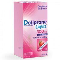 Dolipraneliquiz 300 Mg Suspension Buvable En Sachet Sans Sucre édulcorée Au Maltitol Liquide Et Au Sorbitol B/12 à LYON
