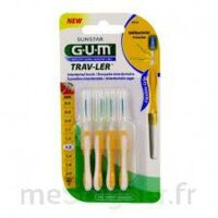 Gum Trav - Ler, 1,3 Mm, Manche Jaune , Blister 4 à LYON