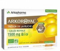 Arkoroyal Gelée Royale Bio 1500 Mg Solution Buvable 20 Ampoules/10ml à LYON