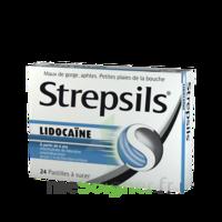 Strepsils Lidocaïne Pastilles Plq/24 à LYON