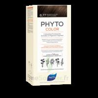 Phytocolor Kit Coloration Permanente 6.77 Marron Clair Cappuccino à LYON