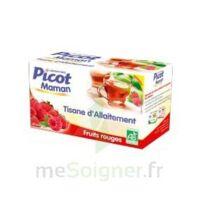 Picot Maman Tisane D'allaitement Fruits Rouges 20 Sachets à LYON