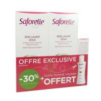 Saforelle Solution Soin Lavant Doux 2*500ml+100ml à LYON