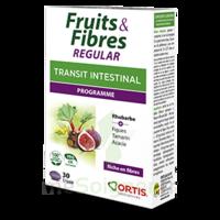 Ortis Fruits & Fibres Regular Comprimés 2*b/30 à LYON