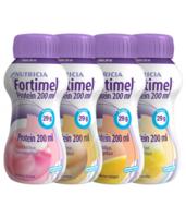 Fortimel Protein Nutriment Multi Saveurs Caramel/vanille/fraise/mangue 4 Bouteilles/200ml à LYON