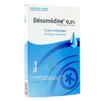 Desomedine 0,1 % Collyre Sol 10fl/0,6ml à LYON