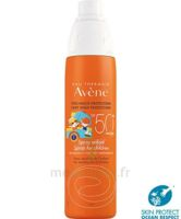 Avène Eau Thermale Solaire Spray Enfant 50+ 200ml à LYON