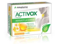 Activox Sans Sucre Pastilles Miel Citron B/24 à LYON
