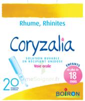 Boiron Coryzalia Solution Buvable Unidose B/20 à LYON