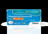 Magnesium/vitamine B6 Mylan 48 Mg/5 Mg, Comprimé Pelliculé à LYON