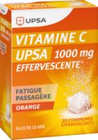 Vitamine C Upsa Effervescente 1000 Mg, Comprimé Effervescent à LYON