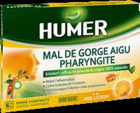 Humer Pharyngite Pastille Mal De Gorge Miel Citron B/20 à LYON
